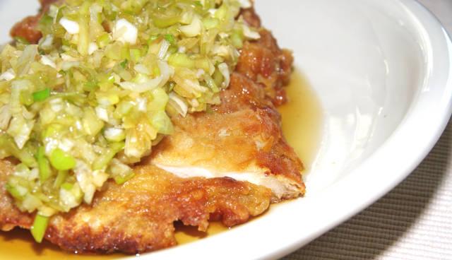 油林鶏・油淋鶏(ユー リン チー)写真1