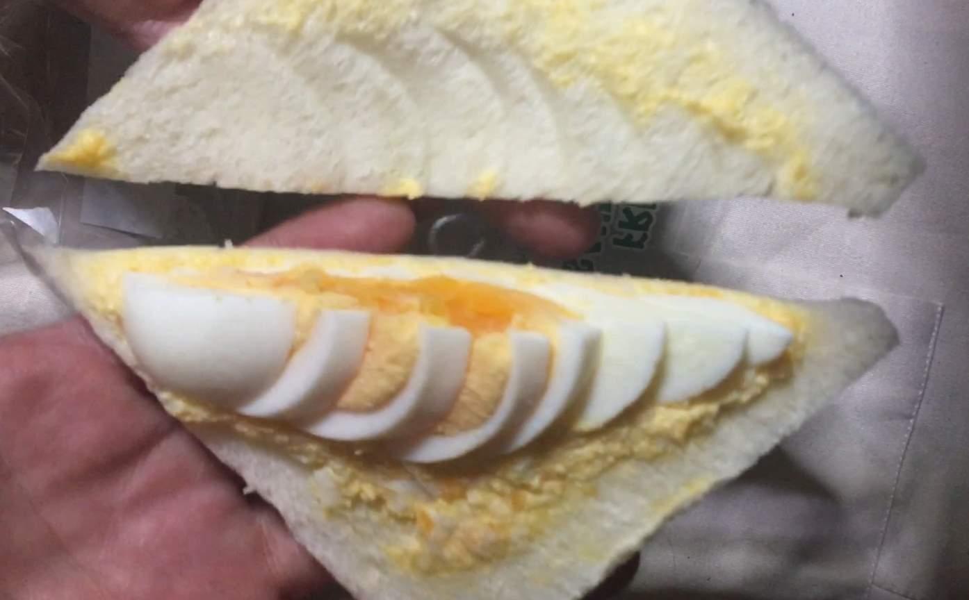 玉子:ミックス  ローソンストアのサンドイッチ