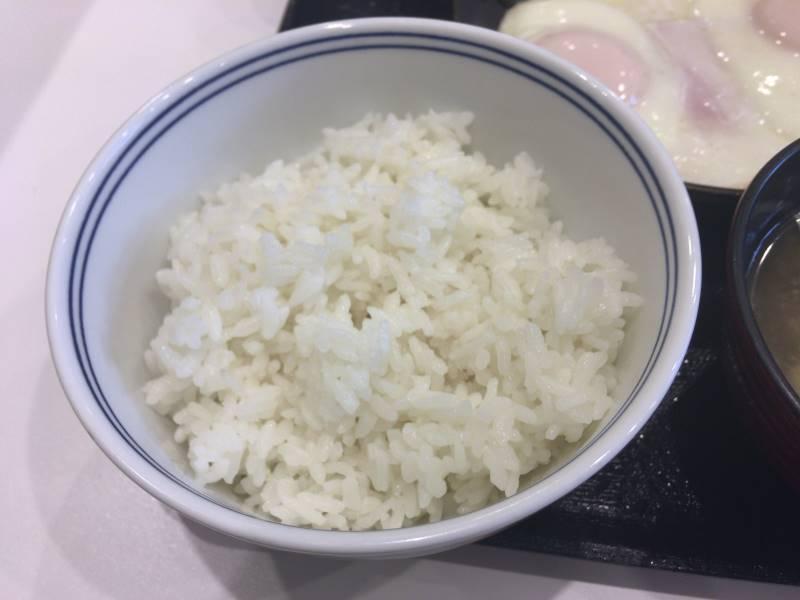 ご飯:Wハムエッグ牛小鉢定食|吉野家