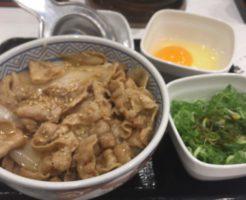 吉野家のねぎたま豚丼