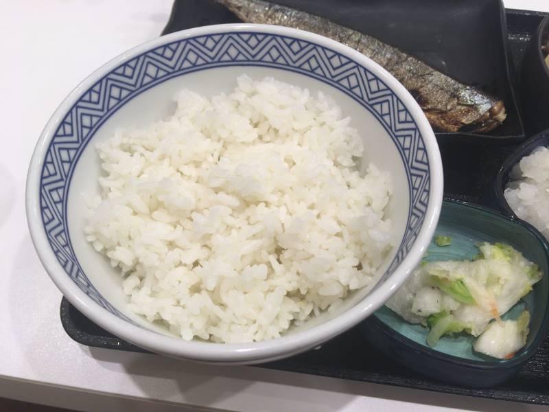 ご飯:さんま炭火焼き牛定食 |吉野家