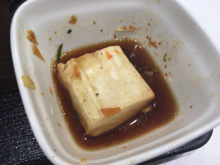 豆腐:牛すき鍋膳単品大盛ねぎ増し