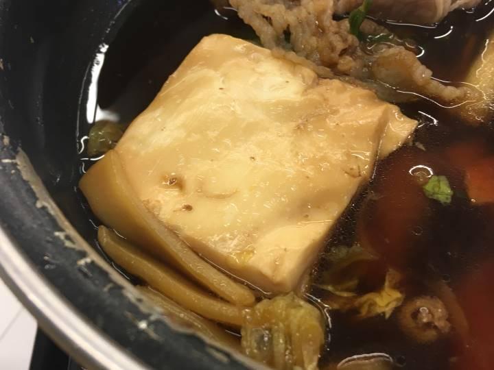 豆腐はとくにいう事なし:2019年10月 吉野家の「牛すき鍋膳」