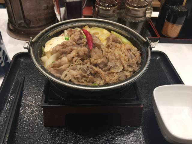 麻辣牛鍋膳単品大盛 2019年度版吉野家の鍋膳 8回目
