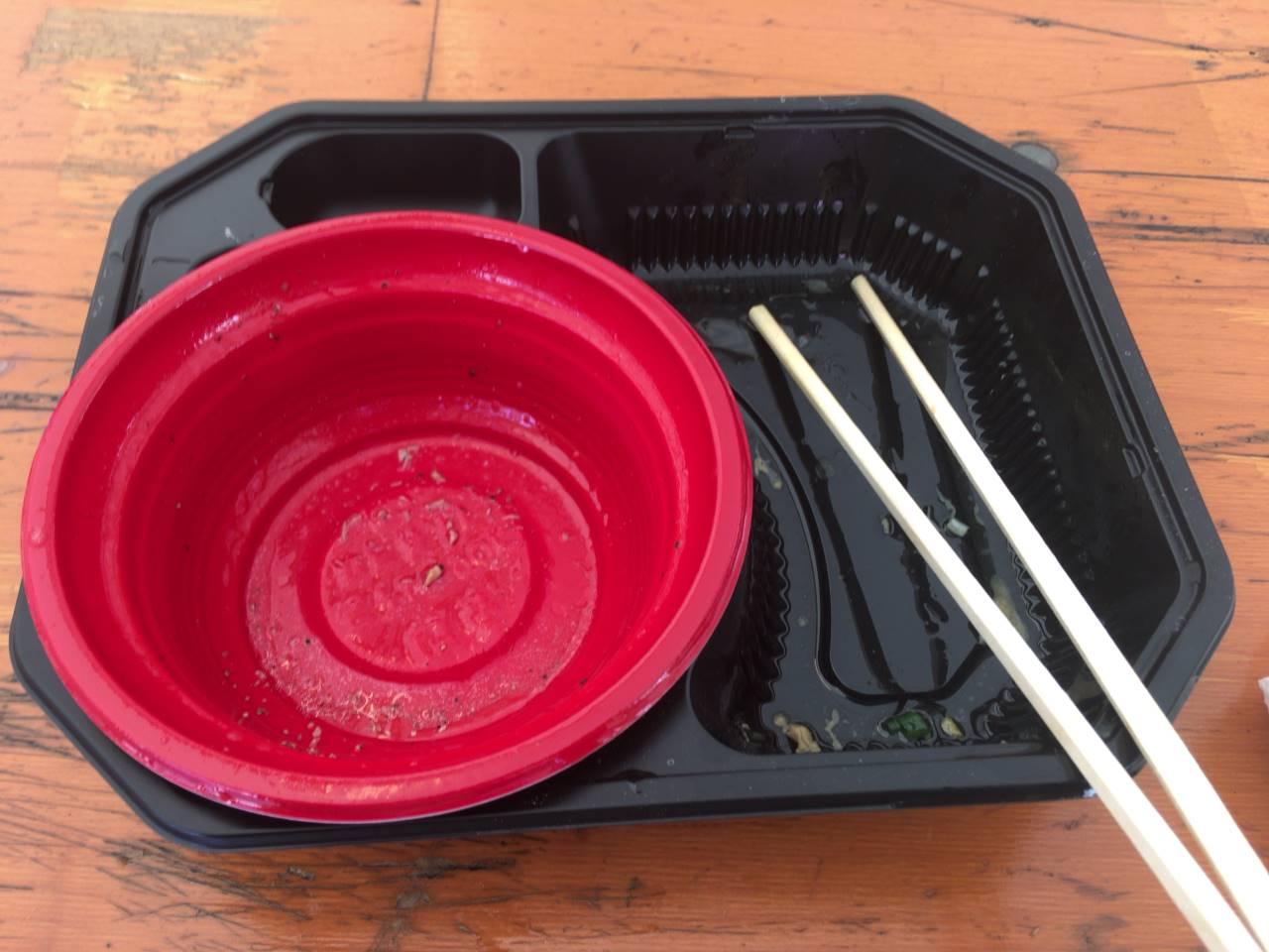 完飲・完食:竹末食堂 大つけ麺博2019のつけ麺 ℃濃厚帆立ソースの鶏つけ麺 トリュフの香りと共に