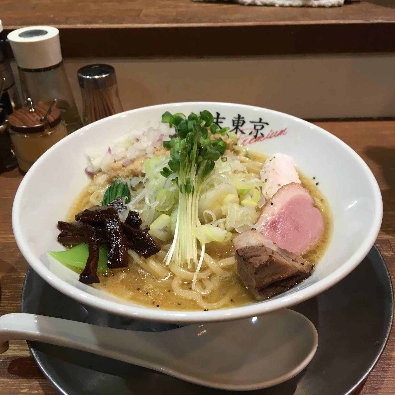 鶏ホタテそば 竹末東京プレミアム