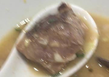 煮豚は柔らかくておいしかった。:竹末東京プレミアム