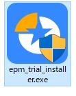 exeファイルのアイコン