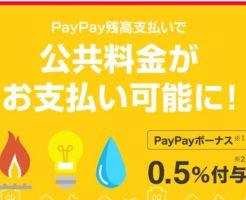 公共料金がPayPay残高で支払い可能に! - PayPay