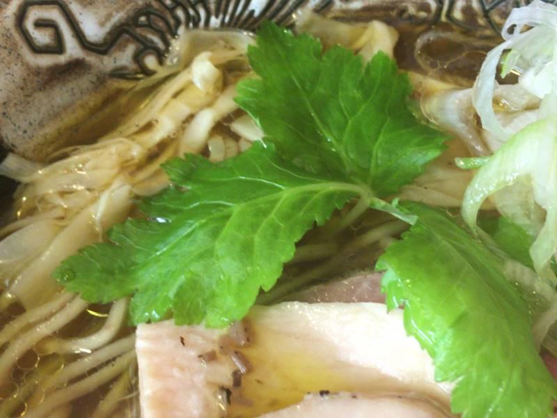 野菜:麺屋太陽のとり醤油そば820円
