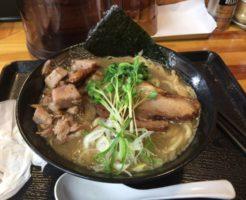 麺屋頂中川會のラーメンとくずチャーシュー