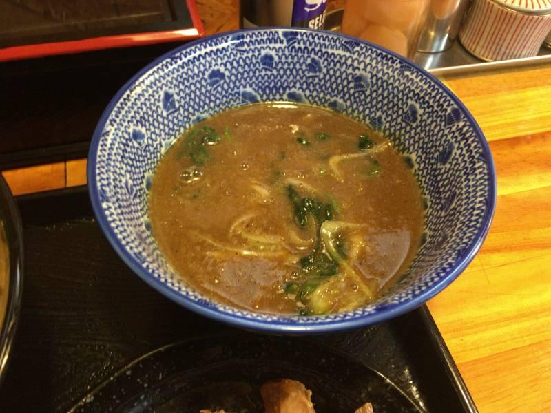 つけ汁(スープ)の写真