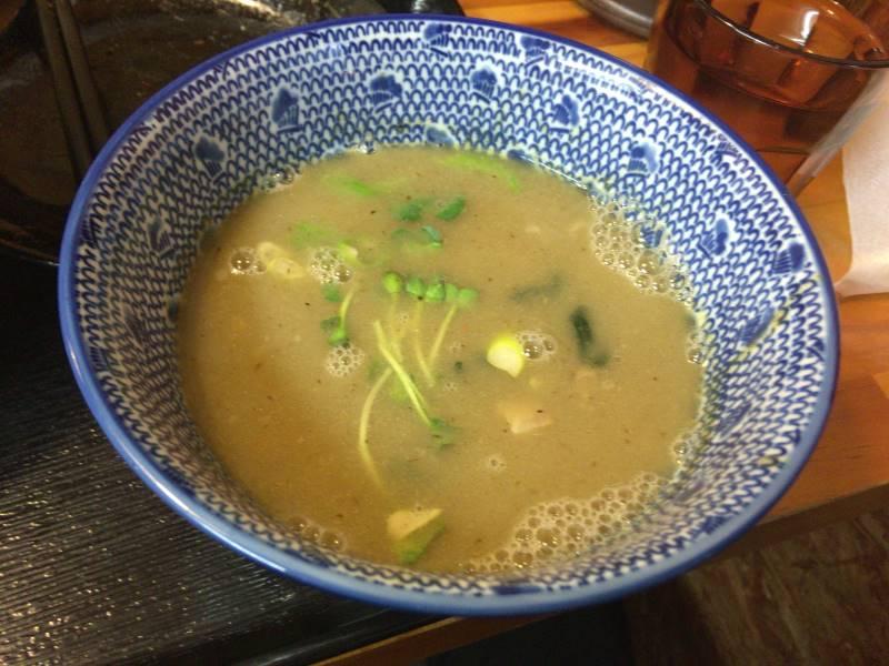 割りスープ後