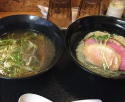 麺屋太陽の昆布水つけ麺