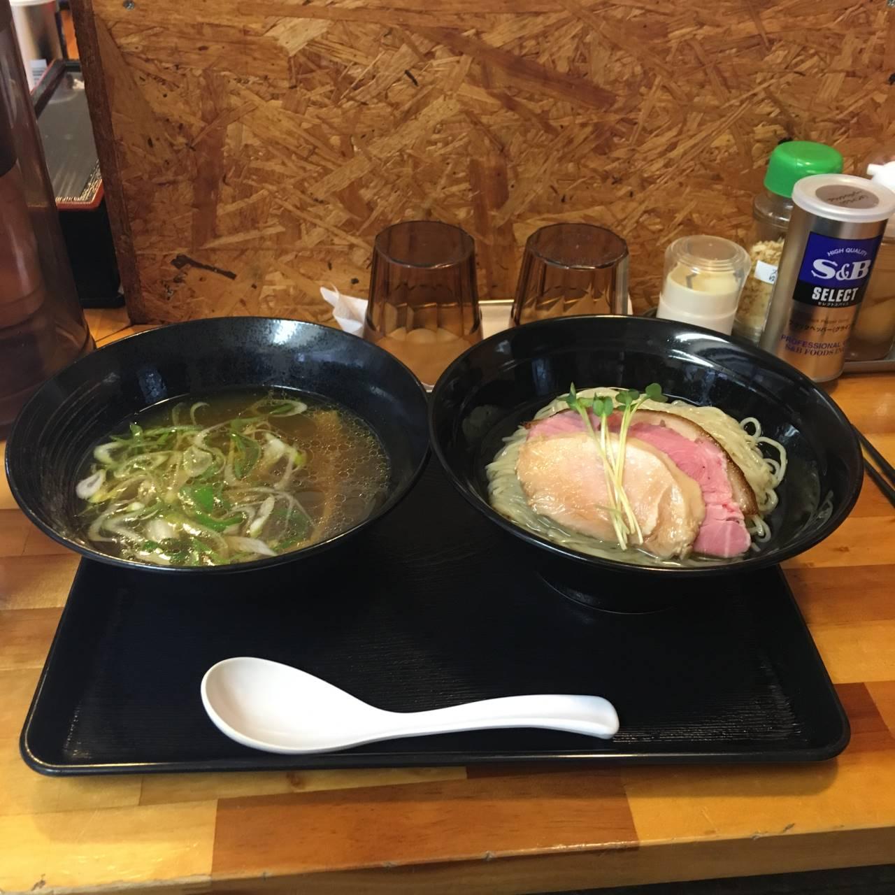 麺屋太陽の昆布水つけ麺980円