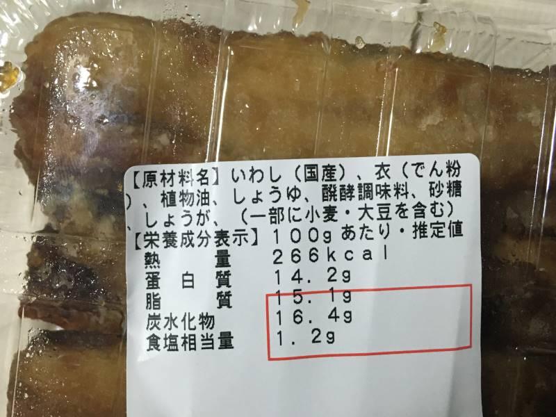 原料と栄養価
