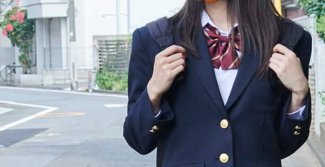 女子高生冬ブレザー制服
