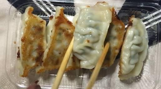 中身 野菜餃子 オーケー