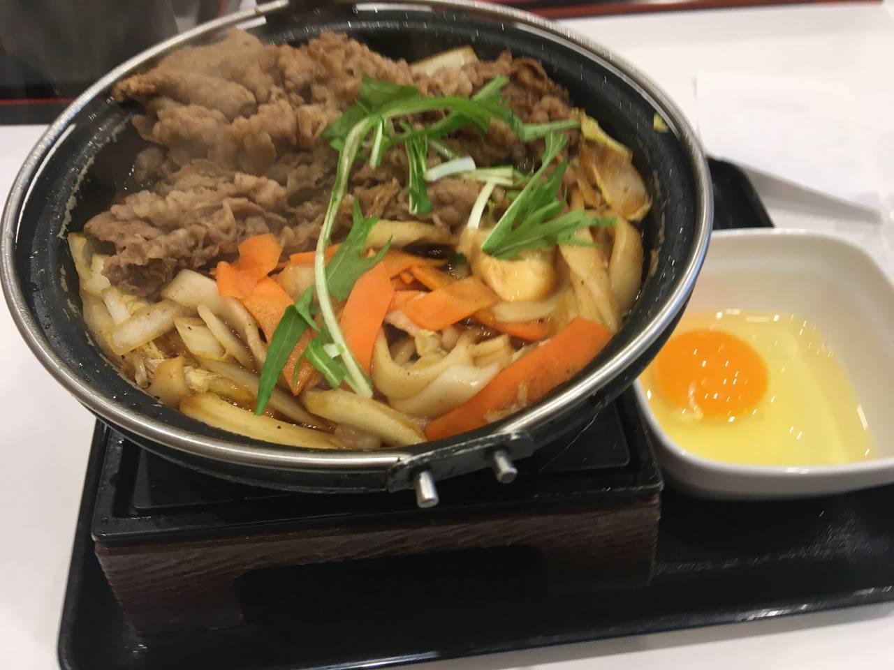 牛すき鍋膳単品大盛|吉野家