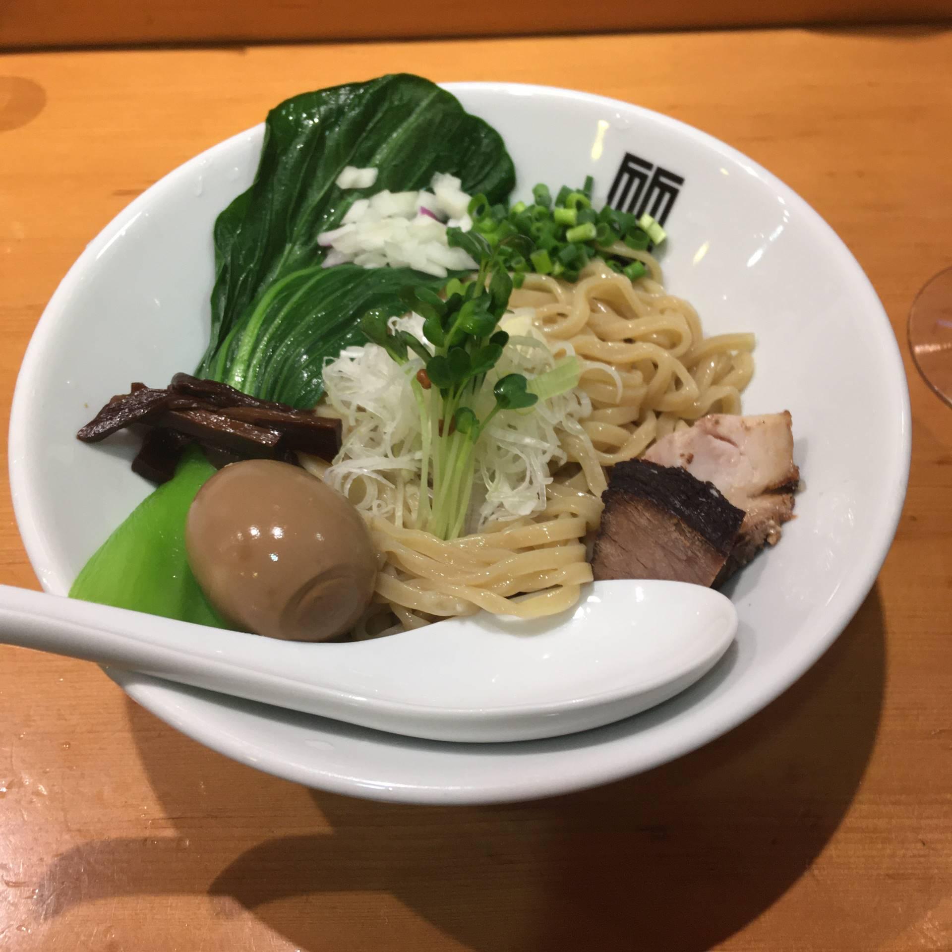 竹末東京プレミアム6周年の日の鶏つけそば