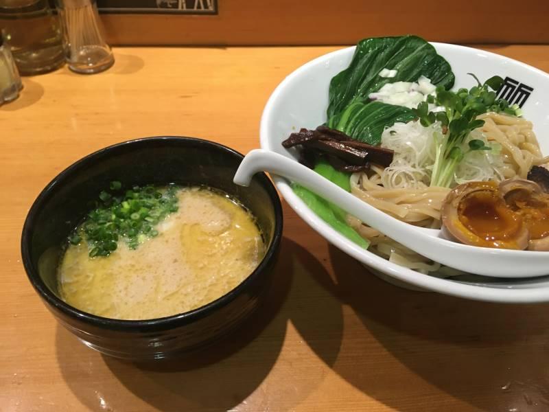 麺とスープの比較