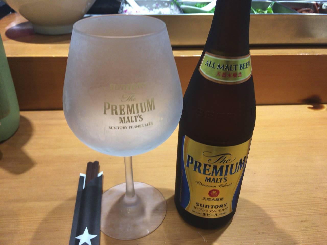 竹末東京Premiumのビール