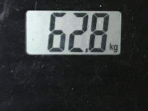 2020年07月03日時点の体重