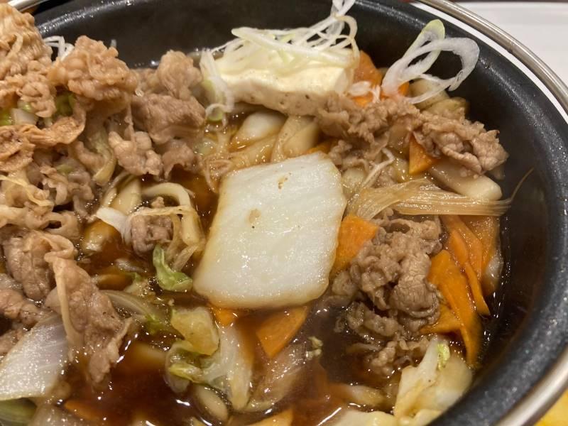 鍋の中の白菜