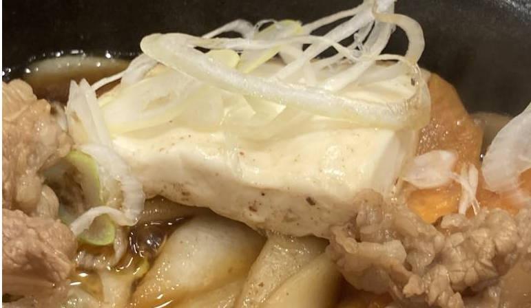 鍋の中の豆腐
