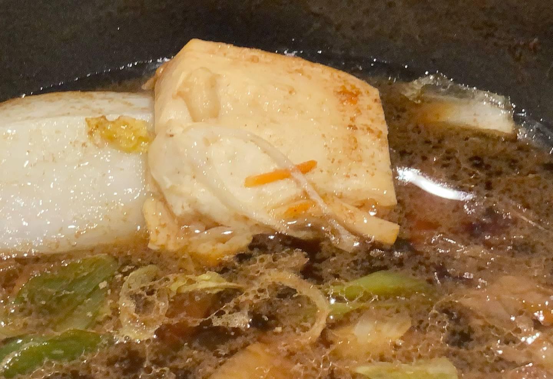 豆腐は以前と同じ大きさ