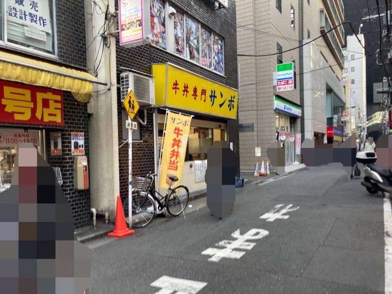 牛丼専門サンボ店舗外観