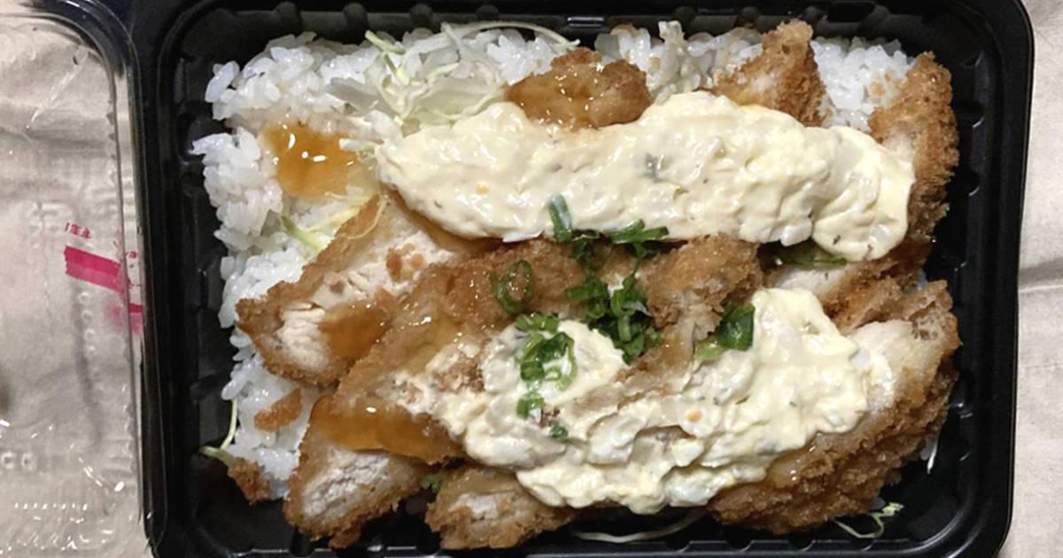 国産チキンカツタルタル丼 オーケーの弁当
