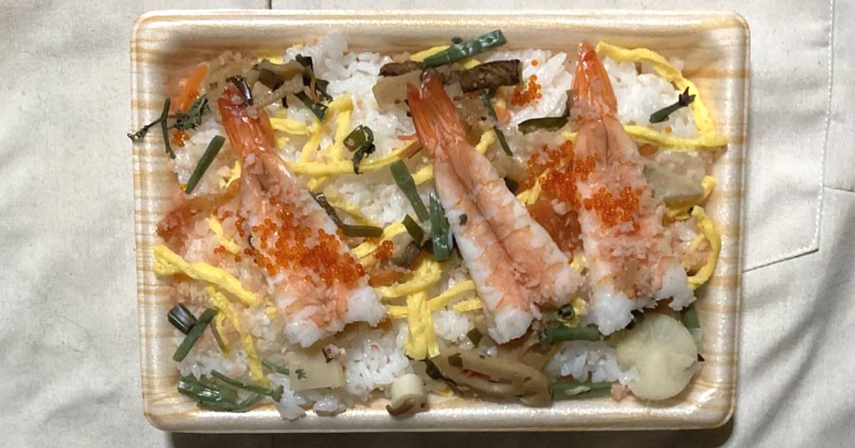 えび五目チラシ(山菜入り)|オーケー