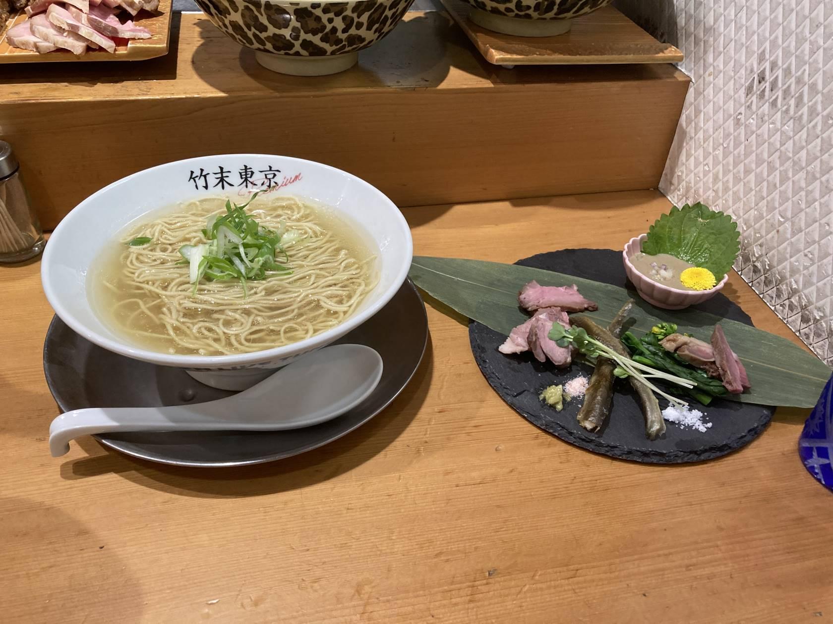 限定麺『山川豊』全体図