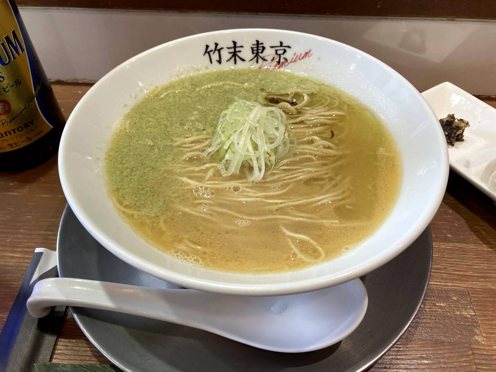 限定麺 春の名残り定食 竹末東京プレミアム