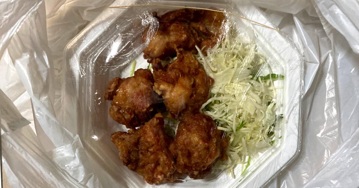 2度目 餃子房味香春 若鶏のから揚げ