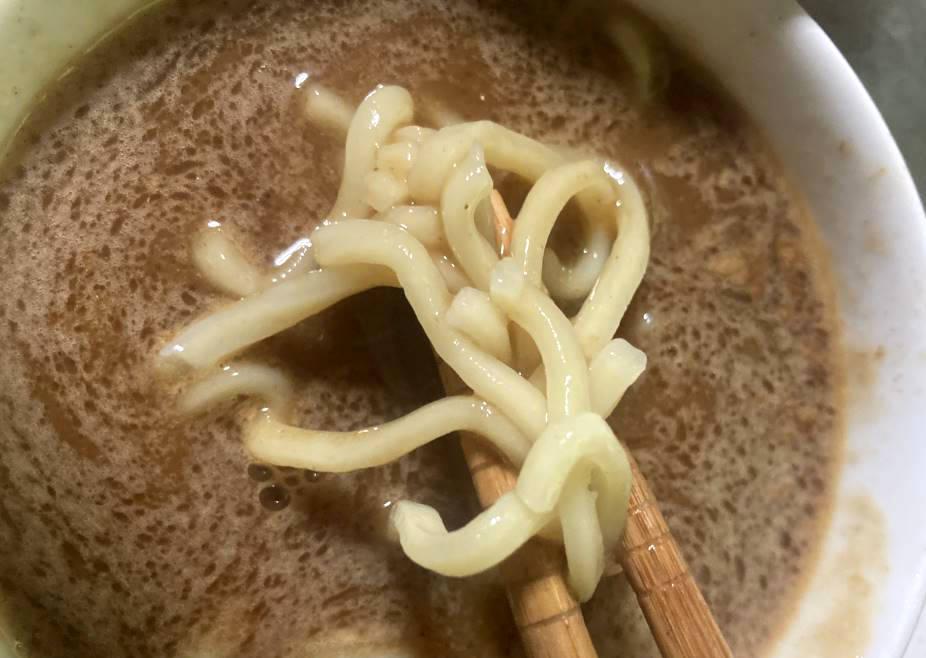 2食目 麺の状態