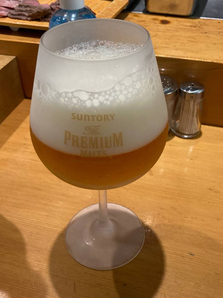 ビール600円